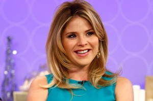 This image released by NBC shows Jenna Bush Hager on NBC News'